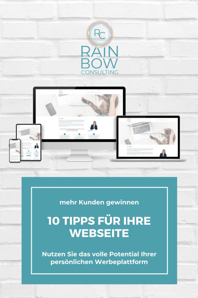 10 Tipps für Ihre Unternehmenswebseite